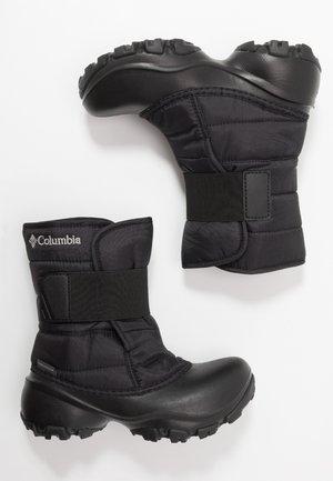 YOUTH ROPE TOW KRUSER 2 - Zimní obuv - black