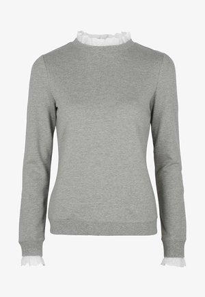 Long sleeved top - grau meliert