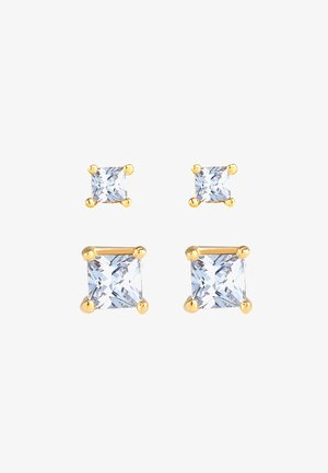 2 PACK CLASSIC - Earrings - gold