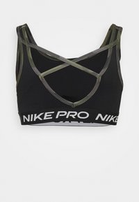 Nike Performance - BRA CAMO - Sport BH - black/white - 1
