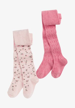2 pack - Tights - pink