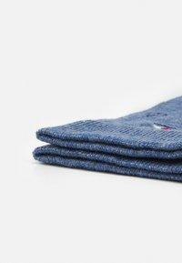 Pier One - 3 PACK - Socks - dark blue/mottled blue/red - 1