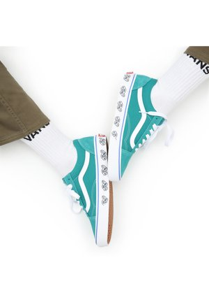 OLD SKOOL - Skate shoes - (sdewllprnt)prslngvnstrtl