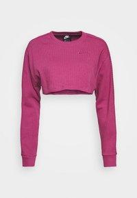 Nike Sportswear - CREW CROP - Sweatshirt - mulberry rose - 4