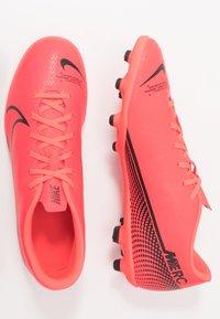 Nike Performance - MERCURIAL VAPOR 13 CLUB FG/MG - Moulded stud football boots - laser crimson/black - 1