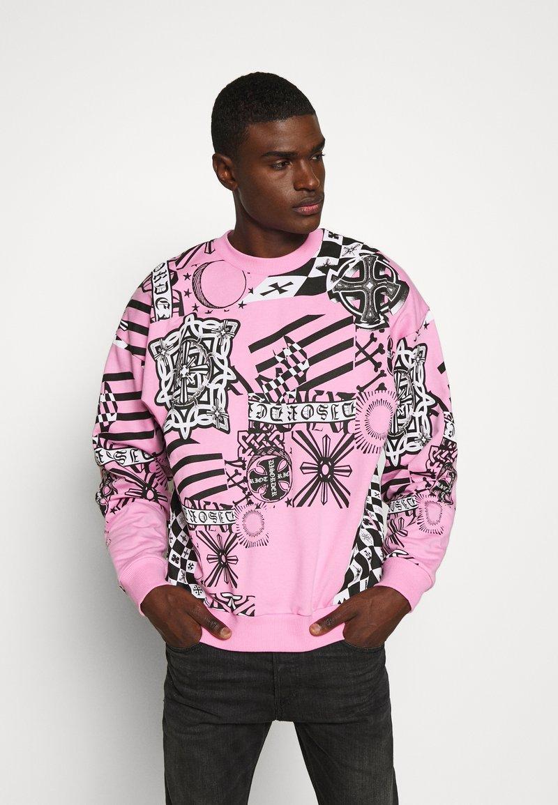 Jaded London - COLLAGE  - Sweatshirt - pink