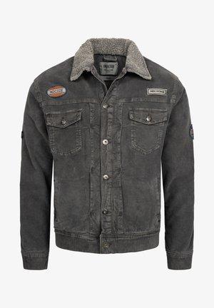 BEARD - Denim jacket - raven