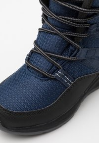 Jack Wolfskin - POLAR BEAR TEXAPORE HIGH UNISEX - Winter boots - blue/black - 5