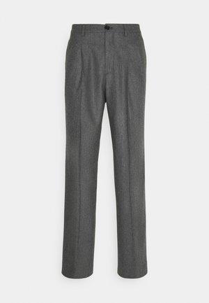 MENS TROUSER WIDE LEG - Trousers - grey