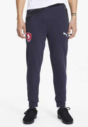 CZECH REPUBLIC CASUALS MAND - Tracksuit bottoms - peacoat