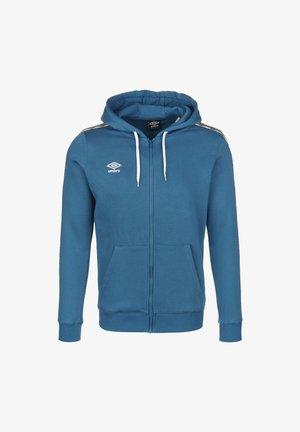 Zip-up hoodie - blue sapphire