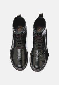 N°21 - BOOTS - Platform ankle boots - black - 8