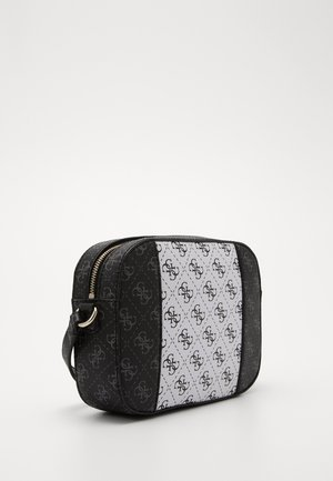 KAMRYN CROSSBODY TOP ZIP - Bandolera - coal/multi