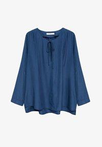 Violeta by Mango - FLIESSENDE  - Long sleeved top - blau - 4