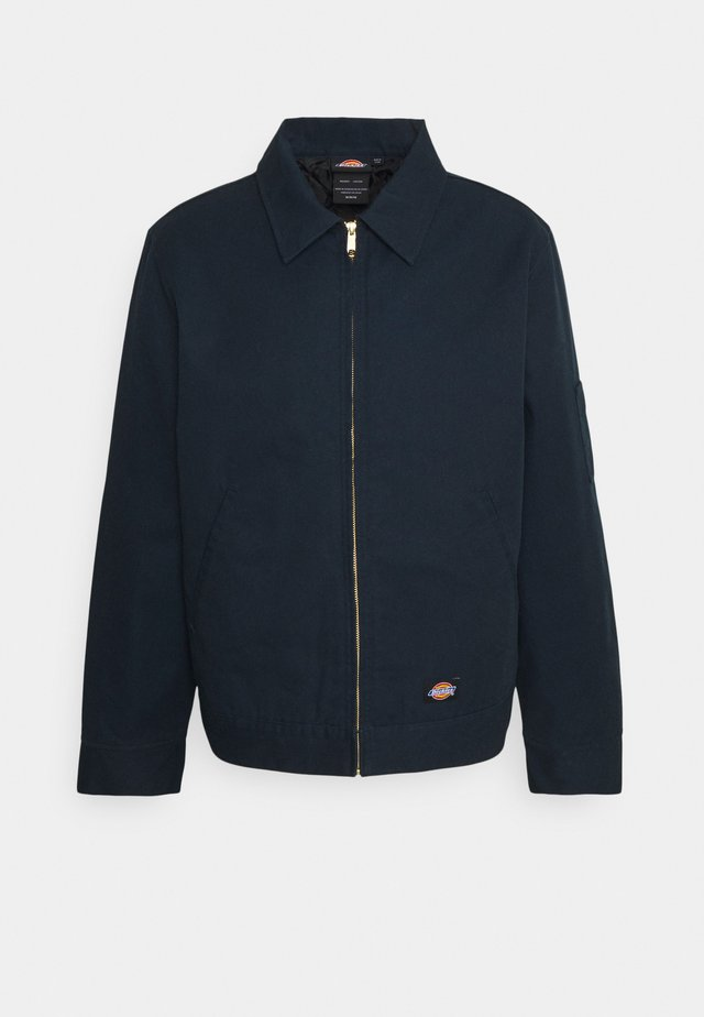 LINED EISENHOWER JACKET - Jas - dark navy
