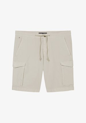 IN GLATTER POPELINE - Shorts - distant grey