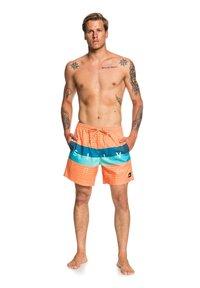 Quiksilver - WORD BLOCK VOLLEY 17 - Swimming shorts - nectarine - 1