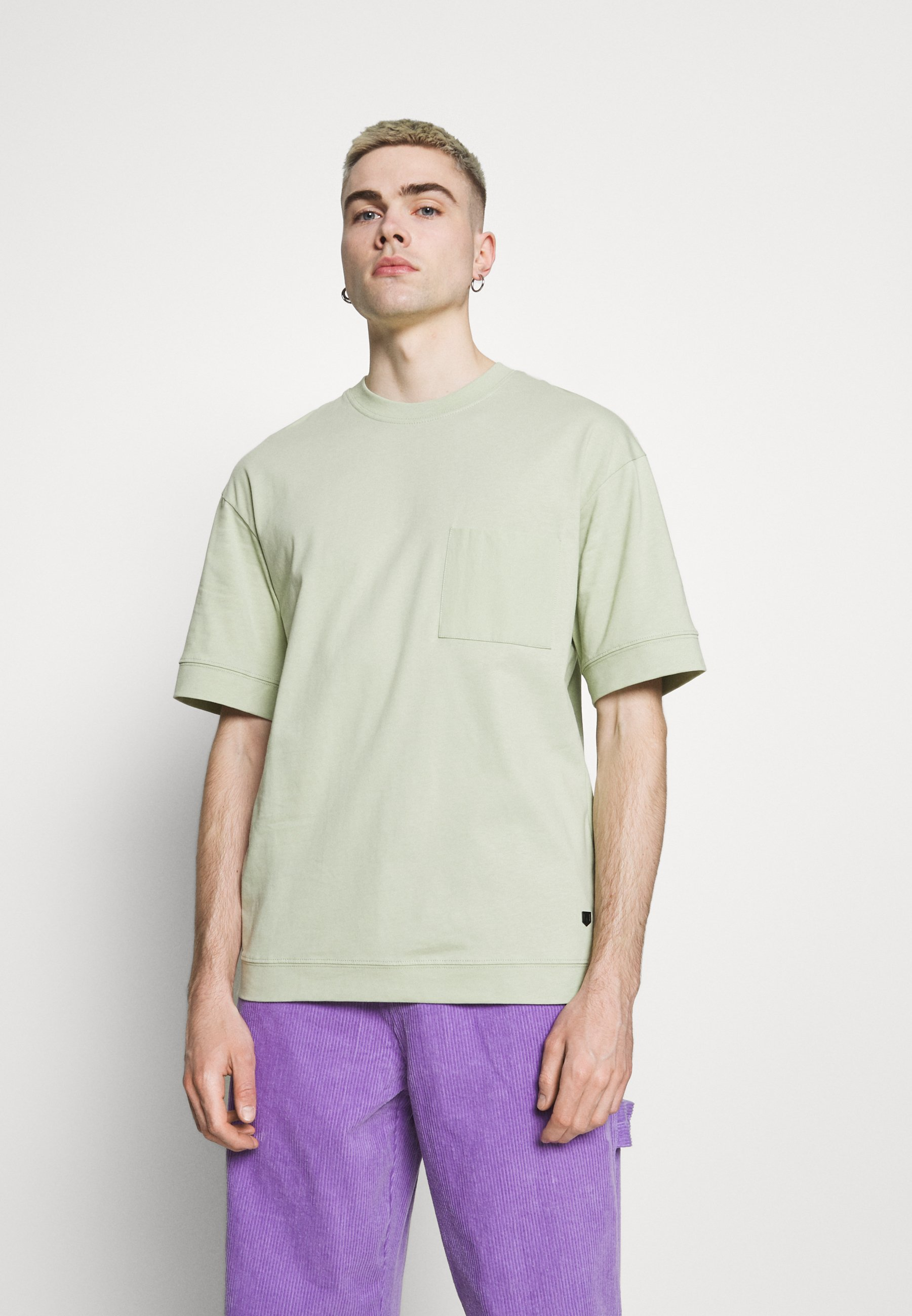 Homme JPRBLAHUGO TEE CREW NECK - T-shirt basique