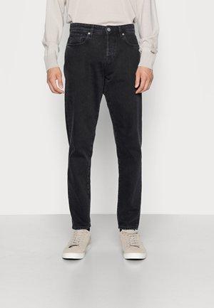 SLHSLIMTAPE TOBY JEANS - Jeans straight leg - black denim