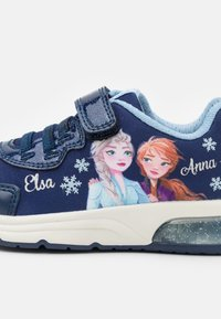 Geox - Disney Frozen Elsa Anna GEOX JUNIOR SPACECLUB GIRL - Trainers - navy/sky - 5