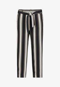 Betty & Co - MIT STREIFEN - Trousers - khaki/schwarz - 3