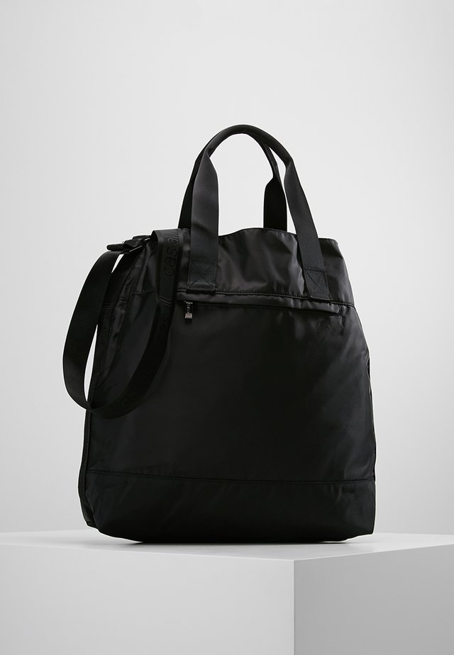 TOTE BAG - Across body bag - black