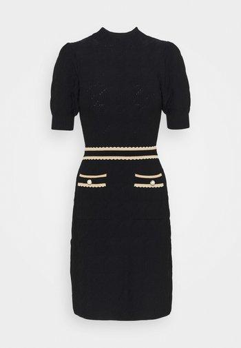 MERYLE - Shift dress - noir