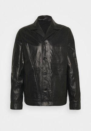 WASSWA JACKET  - Leather jacket - black