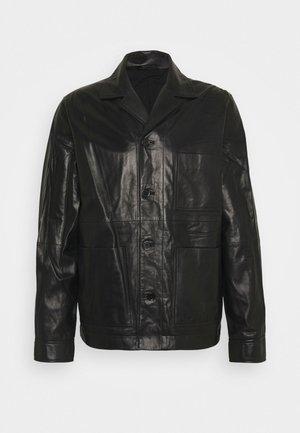 WASSWA JACKET  - Leren jas - black