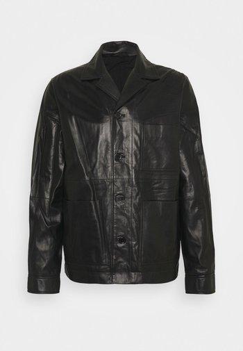 WASSWA JACKET  - Veste en cuir - black