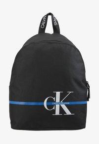 Calvin Klein Jeans - MONOGRAM STRIPE BACKPACK - Batoh - black - 1