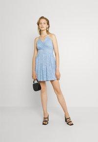 WAL G. - EMMA SKATER DRESS - Koktejlové šaty/ šaty na párty - cornflour blue - 1