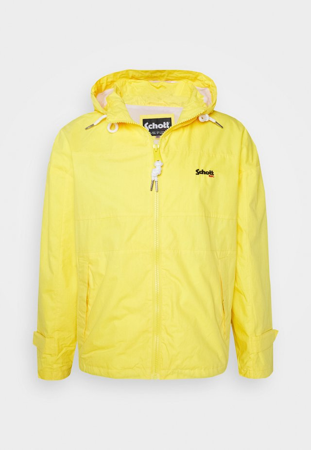 Summer jacket - yellow