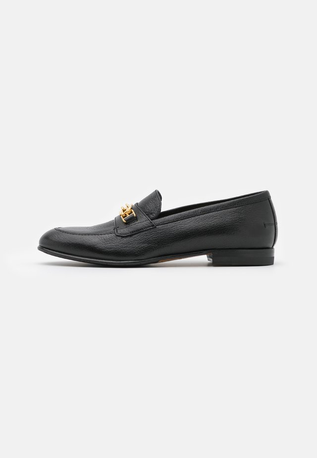 MARSY FLAT - Loaferit/pistokkaat - black