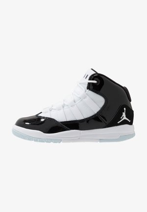 MAX AURA - Basketball shoes - black/white