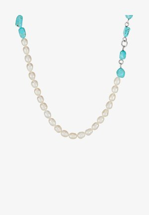 NECKLACE - Ketting - silver-coloured