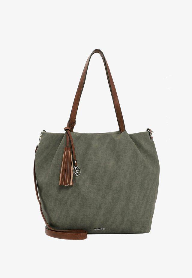 ELKE - Shopping bag - oliv