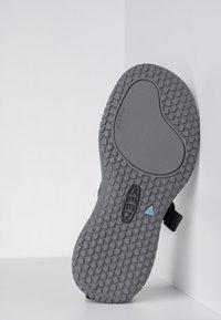 Keen - SOLR POST - Pool slides - black/steel grey - 4