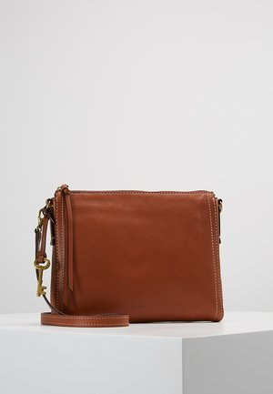EMMA CROSSBODY  - Across body bag - brown
