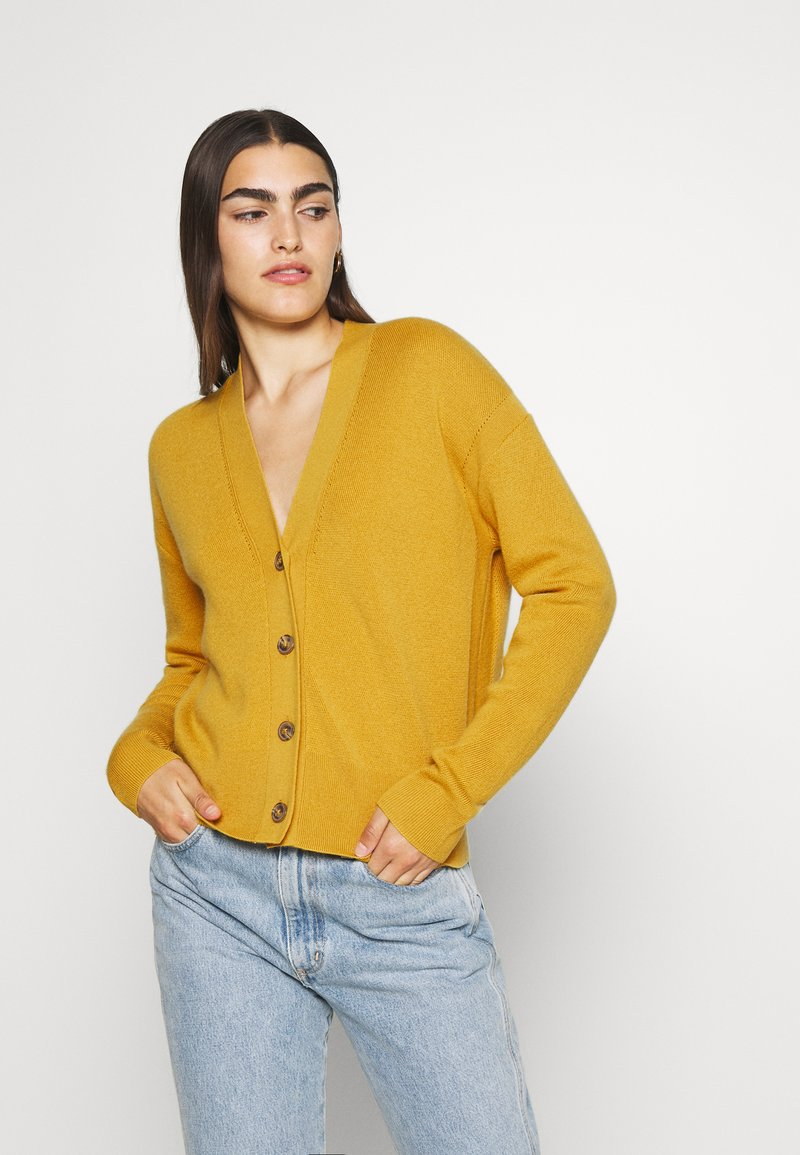 CLOSED - Cardigan - butterscotch