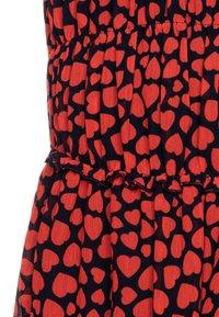 J.CREW - ELSA HEARTS DRESS - Sukienka letnia - navy/red - 2