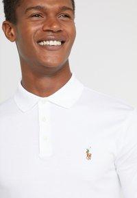 Polo Ralph Lauren - PIMA KNT - Polo shirt - white - 4