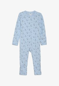 Sanetta - OVERALL BABY - Pyjamas - light blue - 3