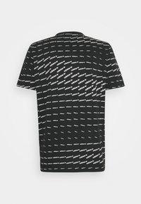 adidas Originals - MONO TEE UNISEX - T-shirt con stampa - black/white - 1
