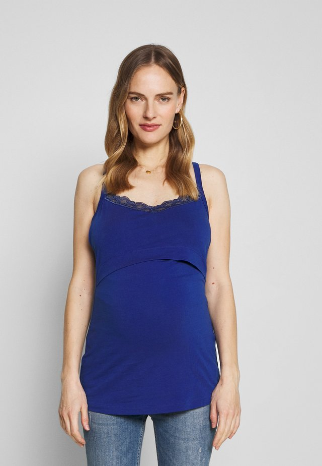SINGLET ATHENS - Top - sodalite blue