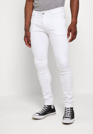 JJILIAM JJORIGINAL  - Jeans slim fit - white denim