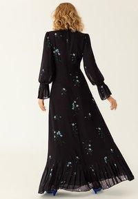 IVY & OAK - PLISSÉ - Maxi dress - black - 1