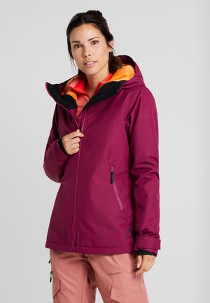 CAKE JACKET - Snowboardová bunda - tibetan red
