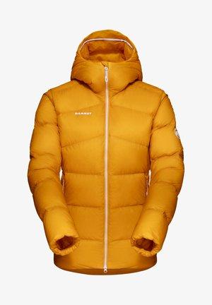 MERON HOODED - Down jacket - YELLOW
