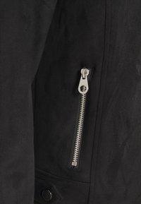 Vero Moda - VMBOOSTBIKER SHORT JACKET - Faux leather jacket - black - 6
